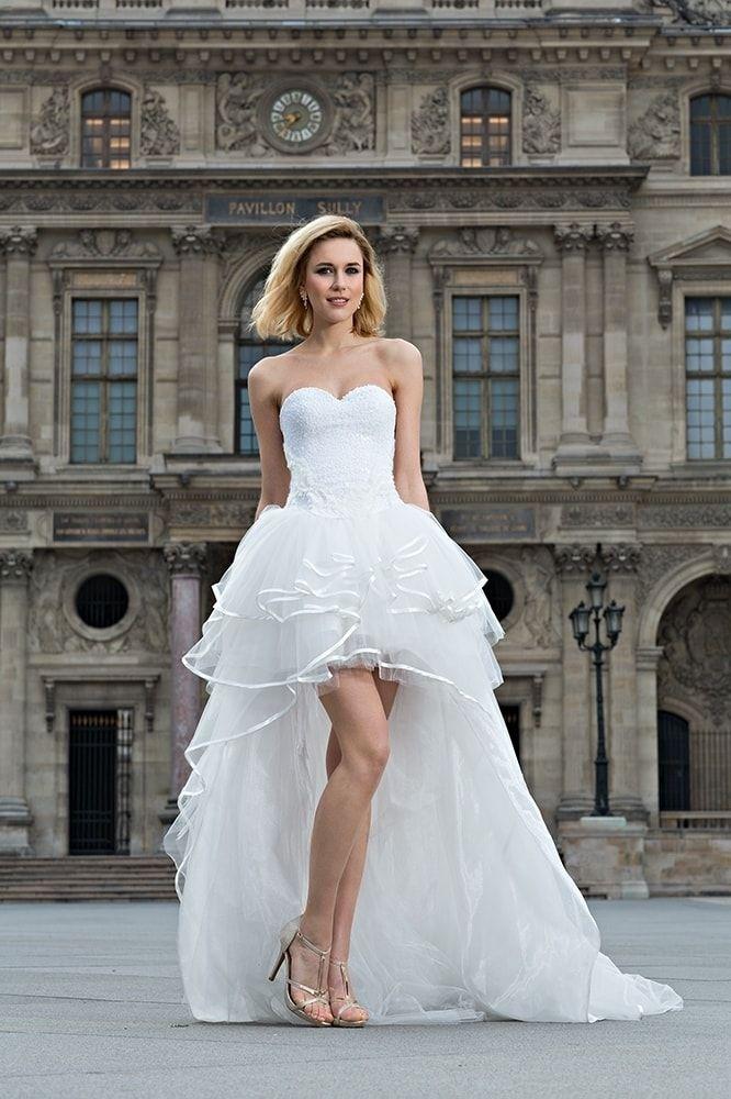 Robe de mariee pour femme petite taille