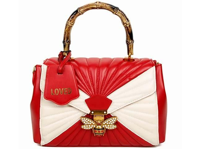 Red Erfly Holdall Handbag With Long Shoulder Strap 34 99 A Shu
