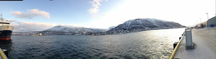 From the docks at Tromso