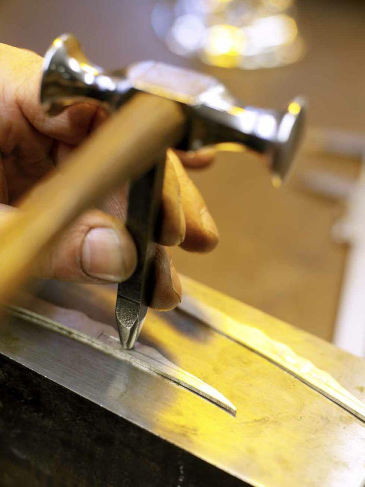 Kay Bojesen silver pin for the silver hair slide. Kay Bojesen silver. Danish Design