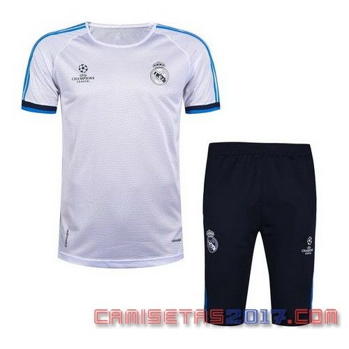 camiseta entrenamiento Real Madrid 2016 2017 blanco