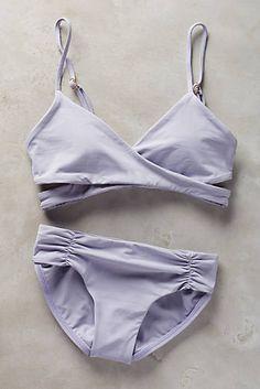 grey swimsuit