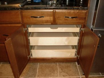 Pull Out Drawers For Kitchen Cabinets   Pull Out Shelves In A Kitchen  Cabinet   Cabinet