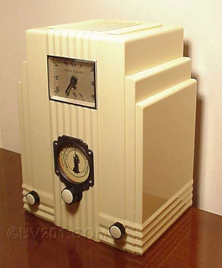 Art Deco Air King Tube Radio