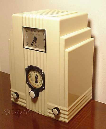 Art Deco Air King Tube Radio