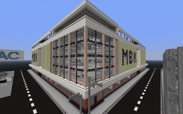Pin By Tyler On Minecraft City In 2020 Minecraft City Shopping Mall Minecraft Blueprints