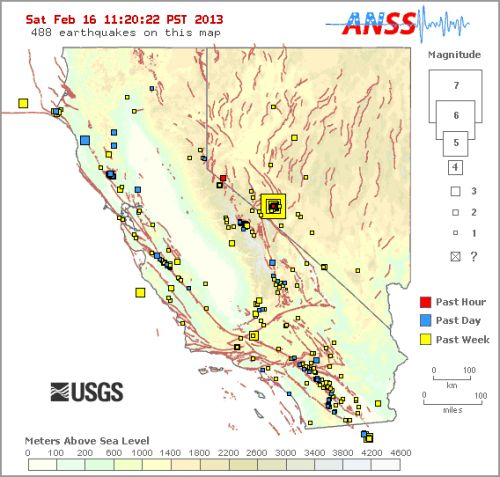 usgs fault map anss | Mapping Fault-Lines in Earthquake Maps