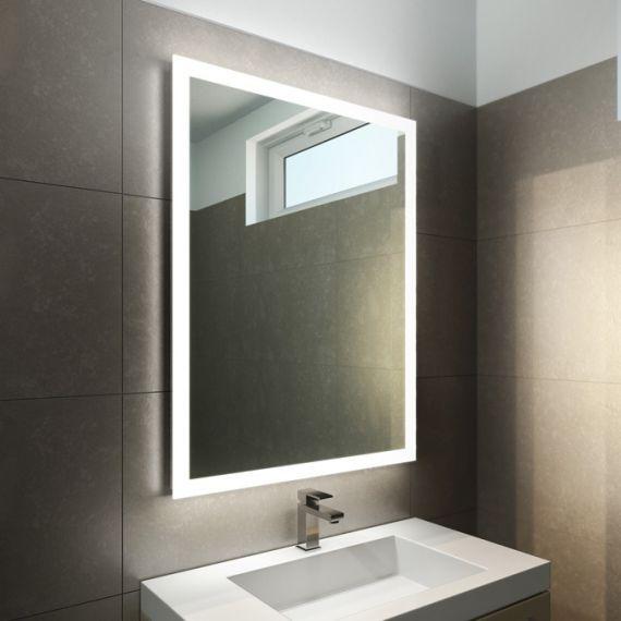 Halo Tall Led Light Bathroom Mirror Bathroom Mirror Design Small Bathroom Mirrors Bathroom Mirror