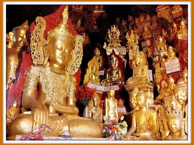 LAS CUEVAS DE PINDAYA, LA COLECCIÓN MÁS GRANDE DE LA ICONOGRAFÍA BUDISTA!! -Diarios de Viajes de Myanmar- Emerald - LosViajeros