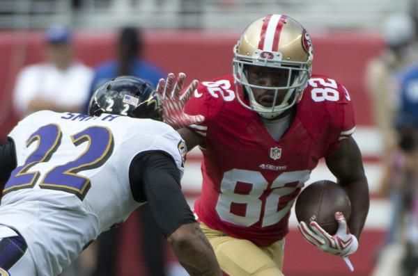 The San Francisco 49ers told wide receiver Torrey Smith that he will be released, multiple media outlets reported Monday.
