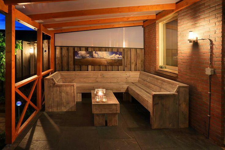 Steigerhouten u-bank jorgs houten meubelen fb