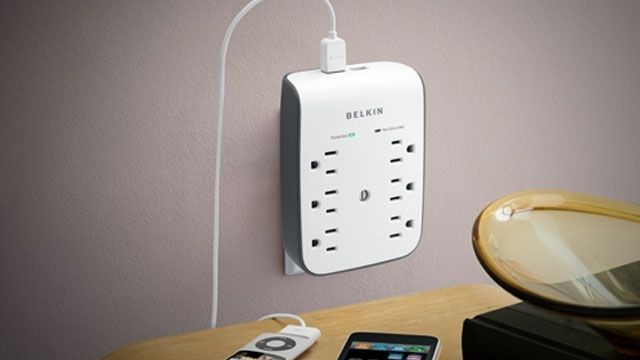 6-Outlet USB Surge Protector
