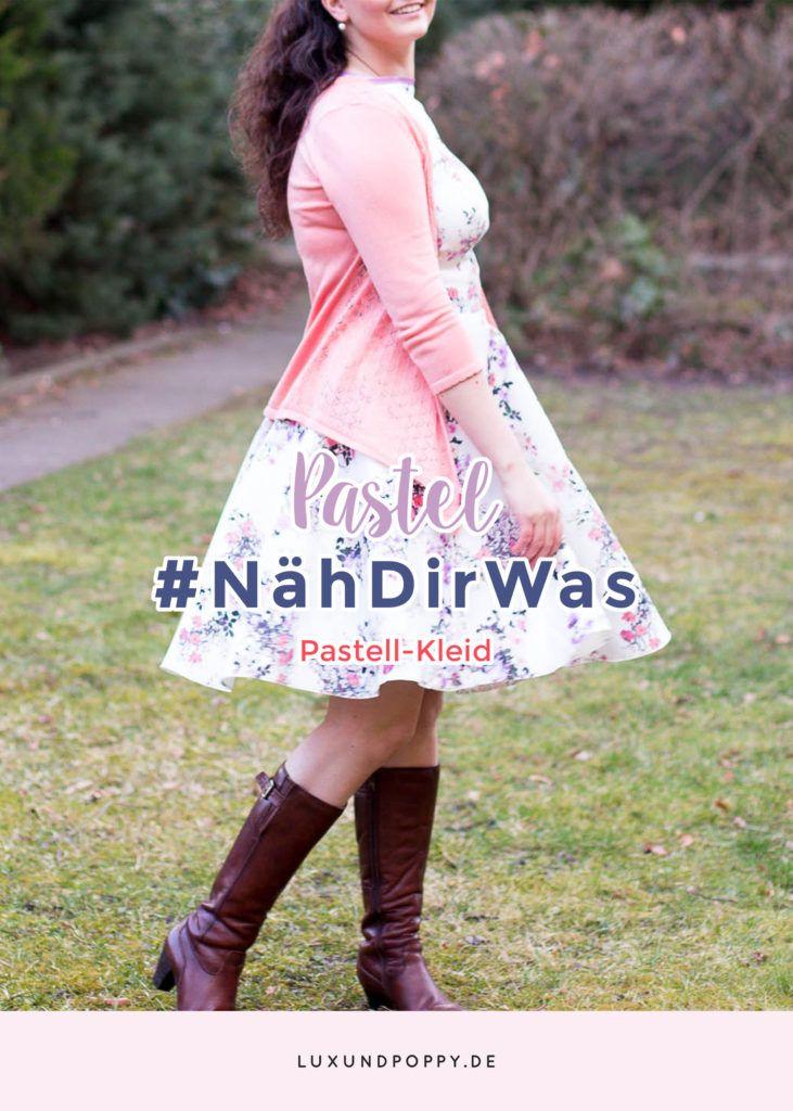 Heute gibt es einen Outfit Post von mir: Ich zeige euch, wie ich eine Lederjacke süß style und im gleichen Rutsch mein #NähDirWas Projekt!