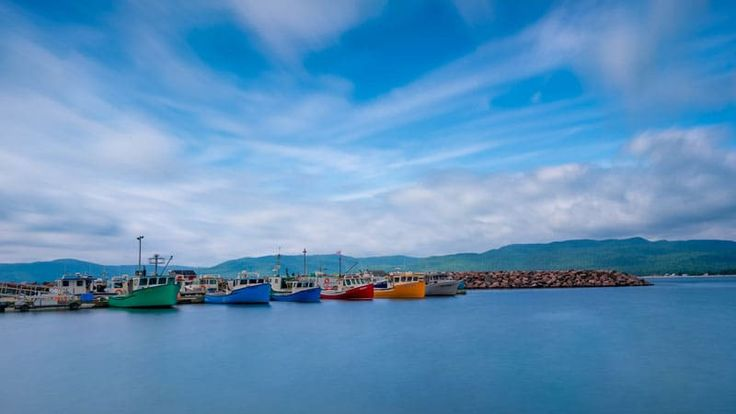 cabot trail fishing boats