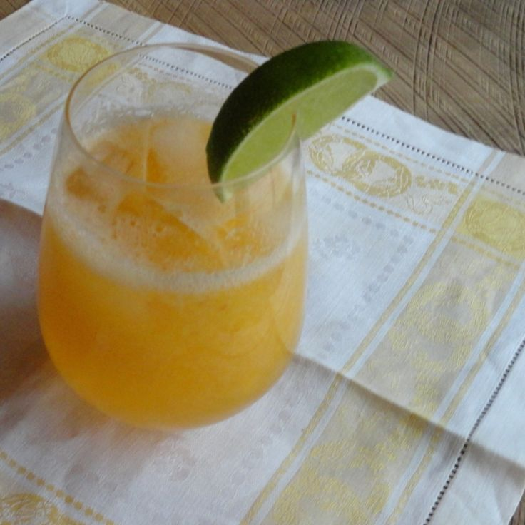 Peach Wine Recipe | Just A Pinch Recipes Perfect for a nice relaxing day sitting outside in the summer. That's my plan for this drink.  Renee.