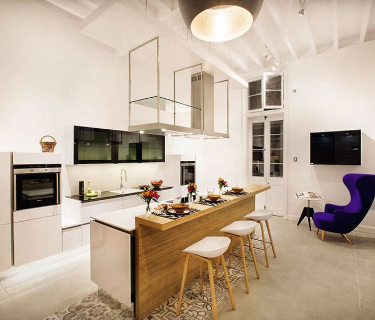 O minimalismo pontuou a Cozinha, ambiente de Tete Avavitarte Laos para a Casa Cor Peru 2015