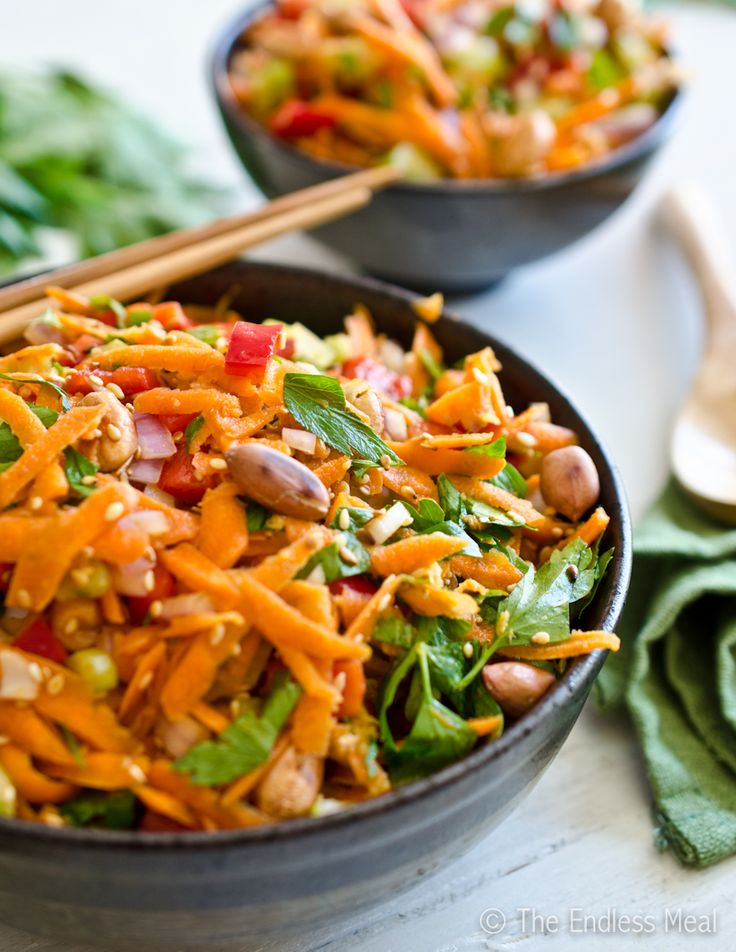 Asian Salad Ingredients 104