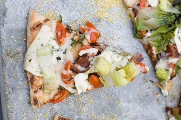 Recipe: Grilled BLT Pizza | Food I love | Pinterest