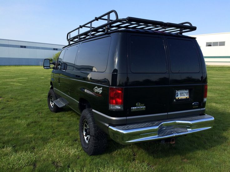 Aluminess Roof Rack With Boat Rollers. 2006 Quigley E350 6.0   Sportsmobile  Forum