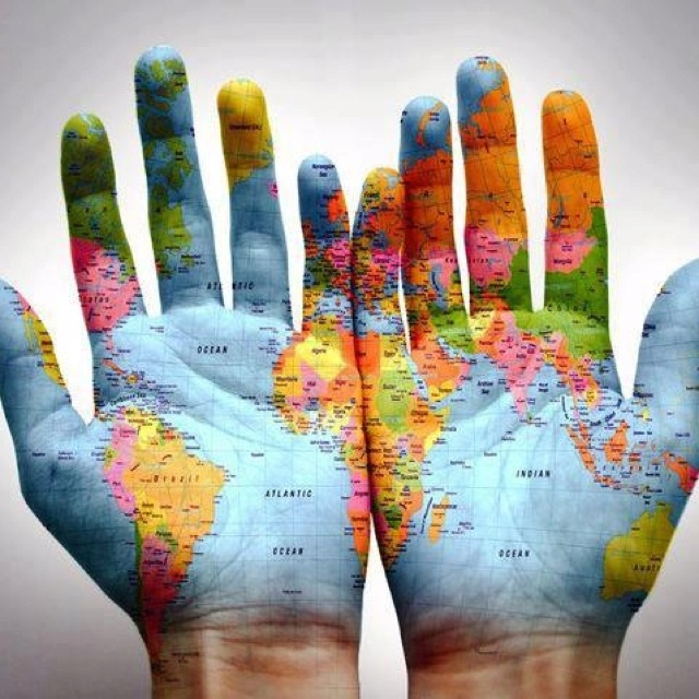 """""""It takes everybody's hands worldwide (and minds) to help SAVE OUR EARTH!"""""""