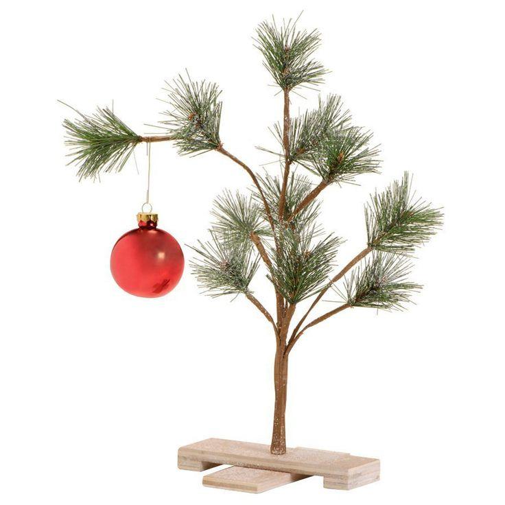 Ee Cummings Christmas Tree Part - 50: Charlie Brown Pathetic Christmas Tree
