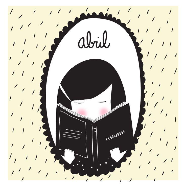#abril #diadellibro #ilustracion #lee #reading #april