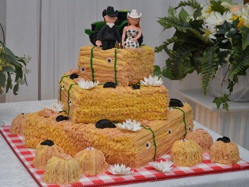 Touches Of Country Wedding Cake Ideas Farm Style