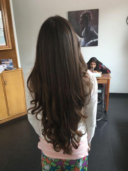 Cortes de pelo en capas v