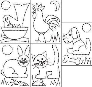Borduurkaarten huisdieren