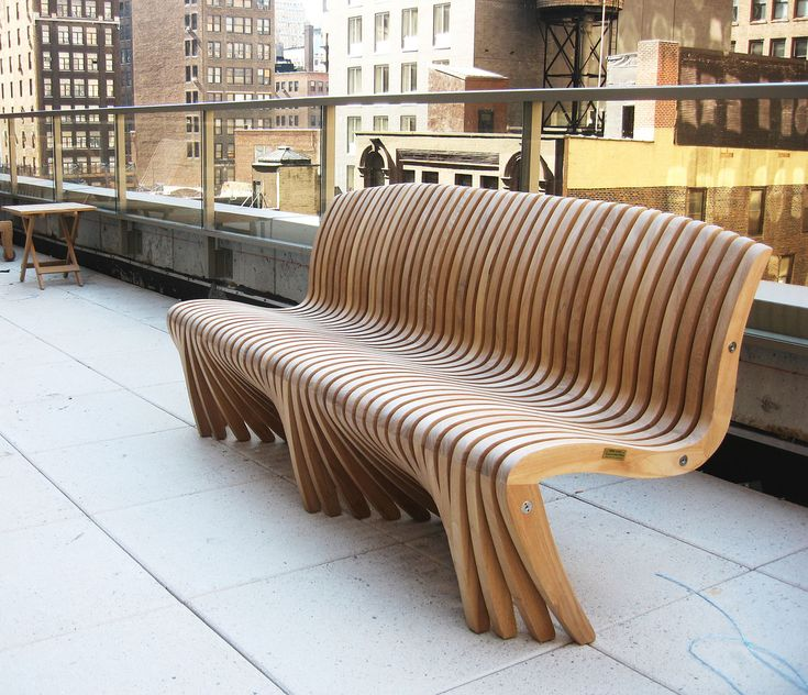 Full Image for Unique Wooden Benches 112 Comfort Design With