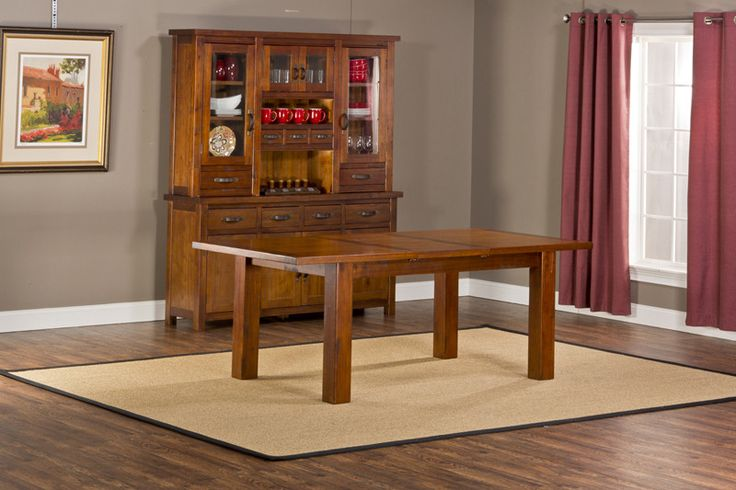 Hillsdale 4321DTBE Outback Dining Table with Leaf