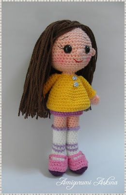 Amigurumi Askina Bebek : 1000+ images about amigurumi Askina on Pinterest ...