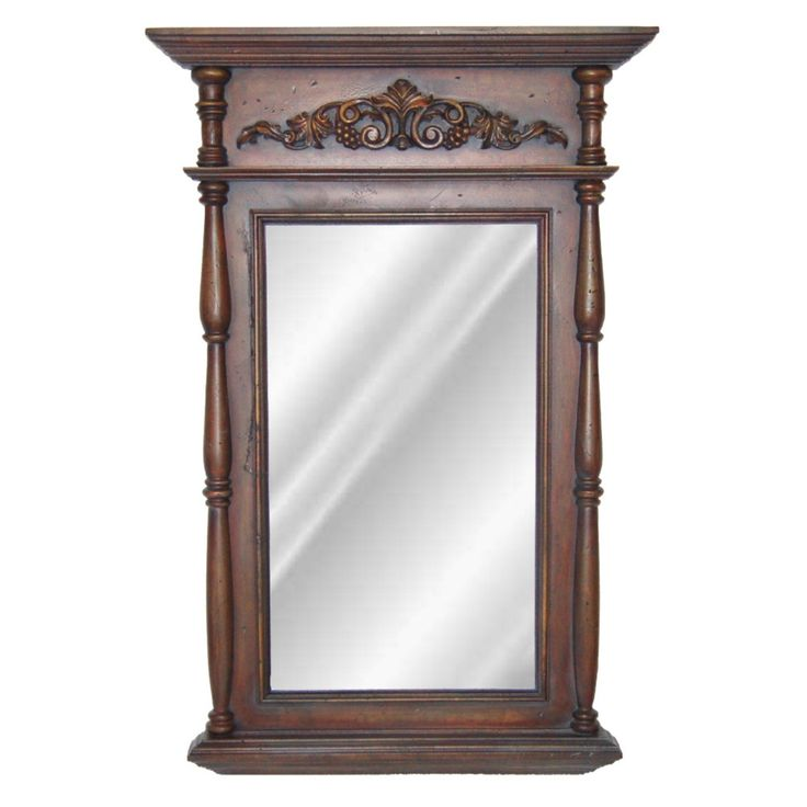 Hickory Manor House Classic Wall Mirror - 29.5W x 45.75H in. - HM6523BD