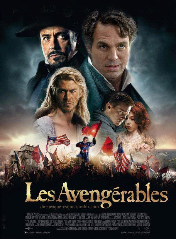 I give you: Les Avengérables. Hahaha... Thor... I can't stop laughing.