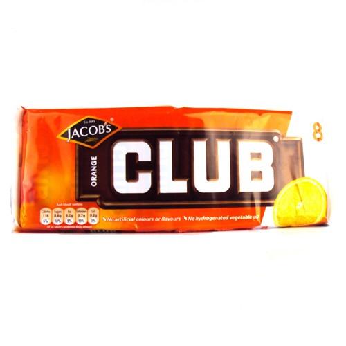Jacobs Club Biscuits Orange