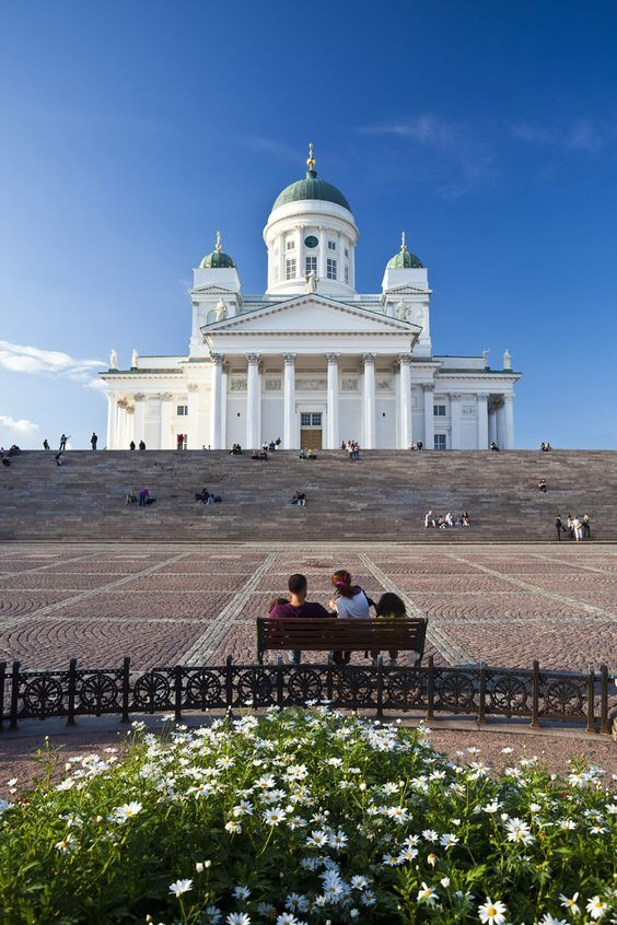 The beautiful and historically significant Helsinki Cathedral is an Evangelic Lutheran church, and for many it is the symbol of Helsinki. The church was designed by architect Carl Ludwig Engel in the 19th century as part of the Empire-style-downtown Helsinki area. The cathedral was completed in 1852.