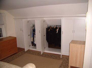 Storage & Closets Photos Sloped Ceiling
