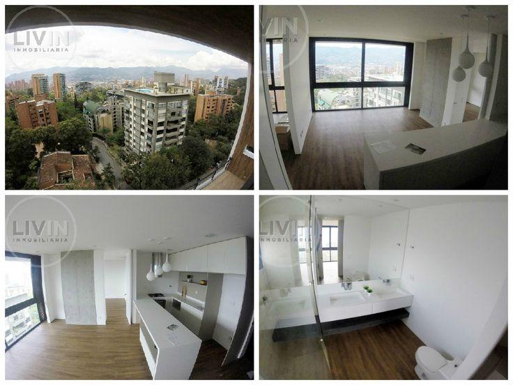 Espectacular #apartamento para #arriendo en Las Lomas ¡para estrenar!. Tiene una hermosa vista a la ciudad, acabados de lujo, sala, comedor, 3 baños, 2 habitaciones, cocina integral y parqueadero. Además el edificio cuenta con piscina, salón social, turco, gimnasio, solárium y vigilancia 24 horas #ArriendoLivin #Livin #Medellín. Más info>> http://goo.gl/1ULP3Y