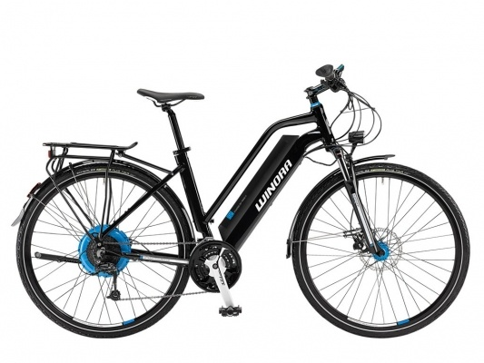 Winora S2 Damen E-Bike Fahrrad 374Wh schwarz 2013 - www.profirad.de