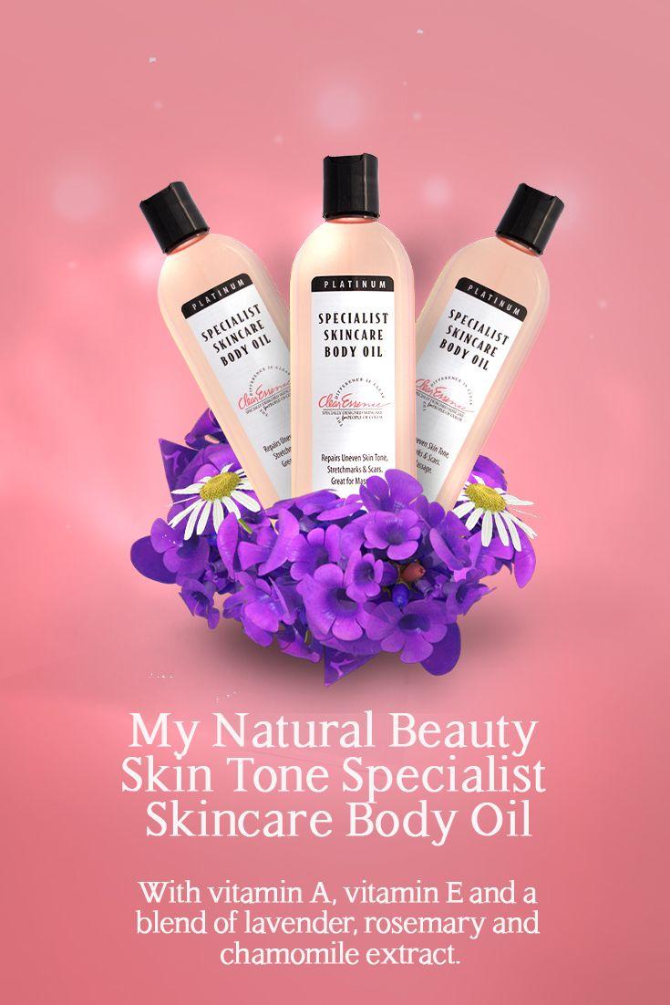 Clear Essence Platinum Specialist Skincare Body Oil 8 Oz Body Oil Moisturizing Body Oil Skin Care