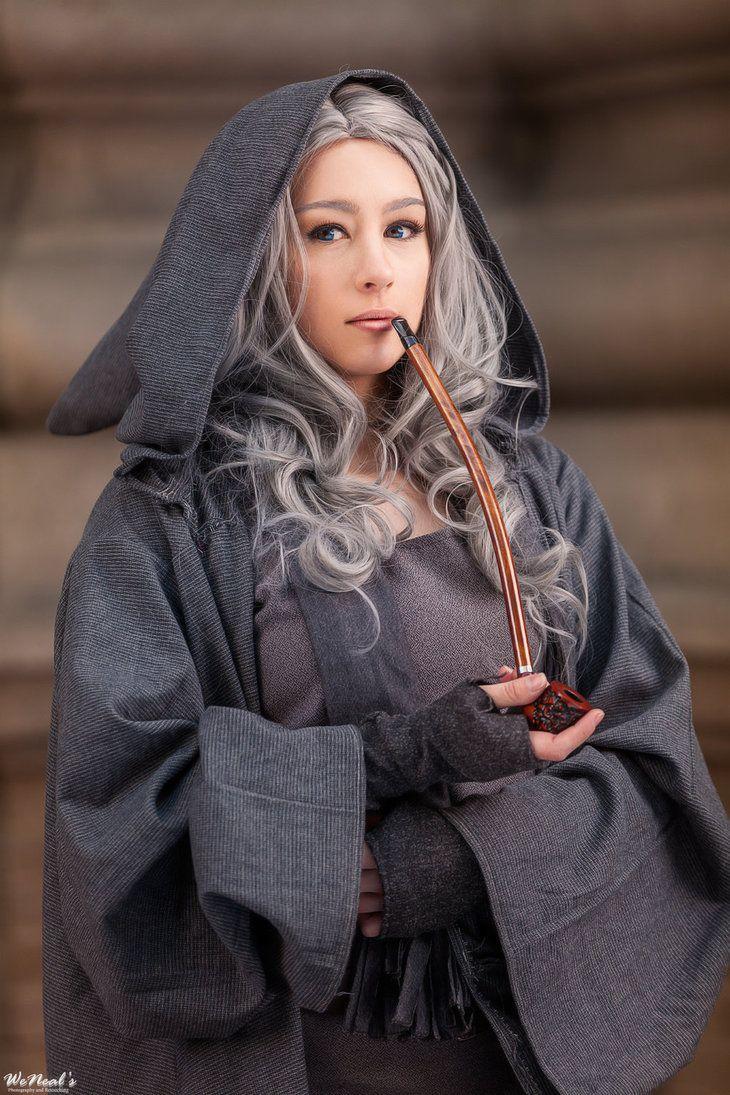 fem gandalf, genderbend, cosplay, lotr   Cosplay   Gender ...