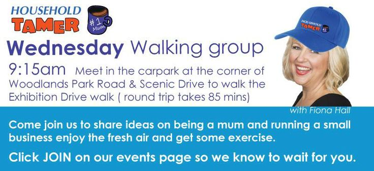 Weekly Wednesday Walks for mums , working or in business. Click here to join https://www.facebook.com/FamilyHelperSolutions/events