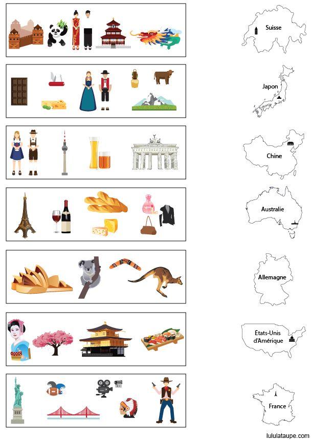 Exercice gratuit, apprendre les pays | Géographie ...