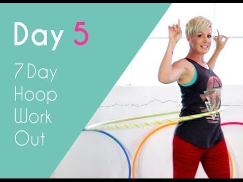 ▶ Day 5 - Hula Hoop Aerobics - 7 Day Hoop Workout Challenge - YouTube