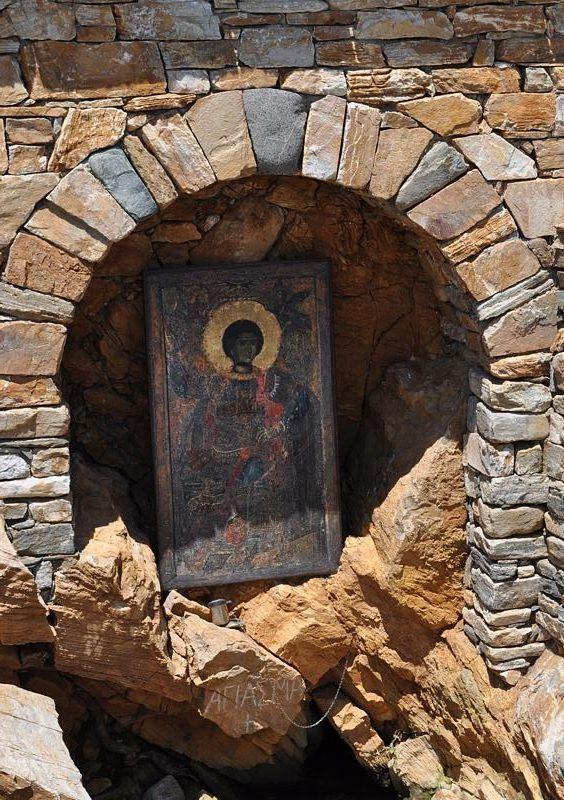 Αγίασμα Αγίου Γεωργίου (Ιερά Μονή Ξενοφώντος, Άγιον Όρος) - Holy Water St. George (Holy Monastery of Xenophontos, Mount Athos)
