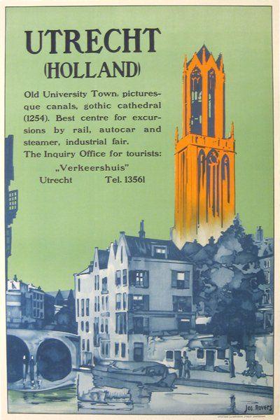 Utrecht (Holland) Jos. Rovers, Poster