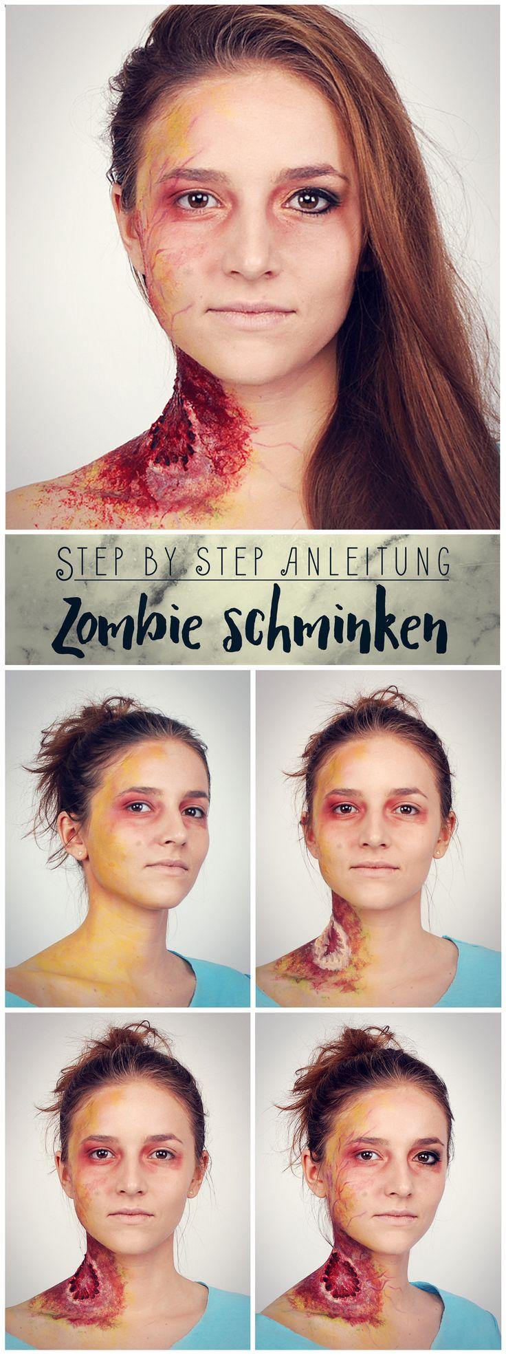"""Halloween-Verkleidung à la """"The Walking Dead""""? Wir zeigen euch, wie ihr euch zum gruseligen Zombie schminken könnt!"""