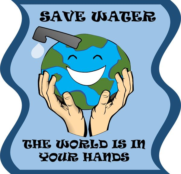 Poster for water conservation