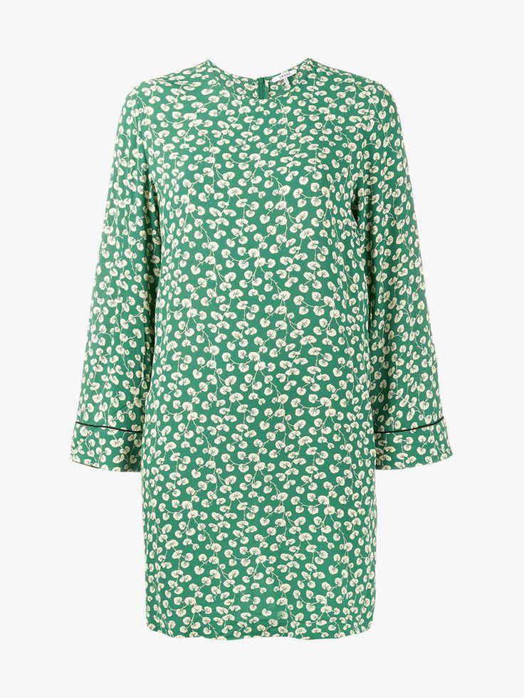 GANNI Dalton Floral Print Dress. #ganni #cloth #