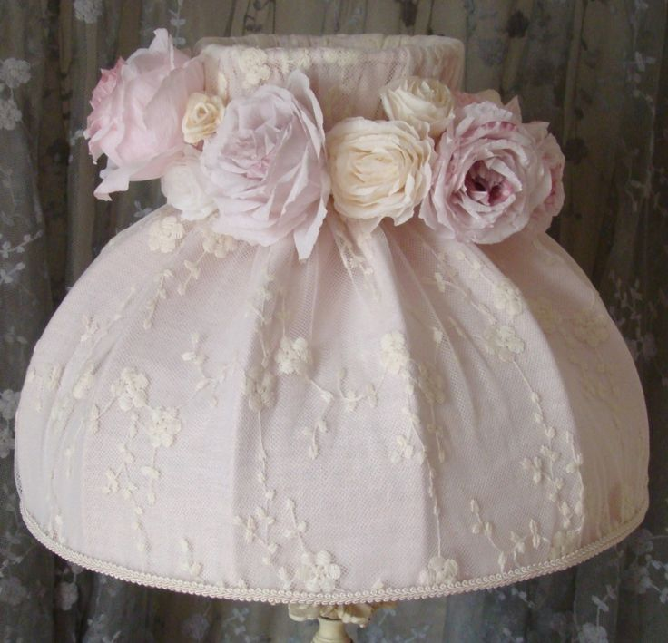 184 best abat-jour shabby chic images on Pinterest | Cotton, Lamp ...